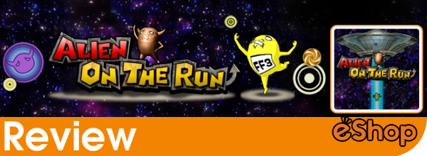 Alien On The Run (3DS eShop) Review