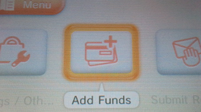 Nintendo 3DS eShop - Add Funds