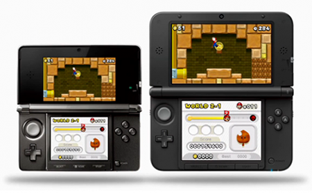Nintendo 3DS and 3DS XL side by side size comparison