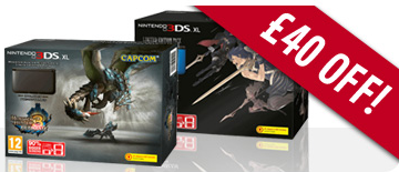 GAME £40 off coupon/voucher code for £40 off Nintendo 3DS XL