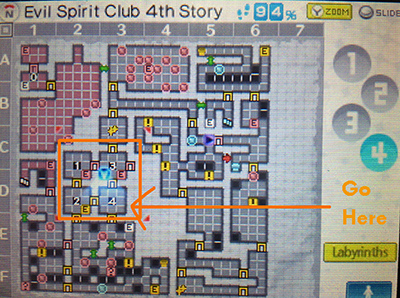 How to solve the 4 door algebra puzzle on the 4th floor of the Evil Spirit Club in Persona Q