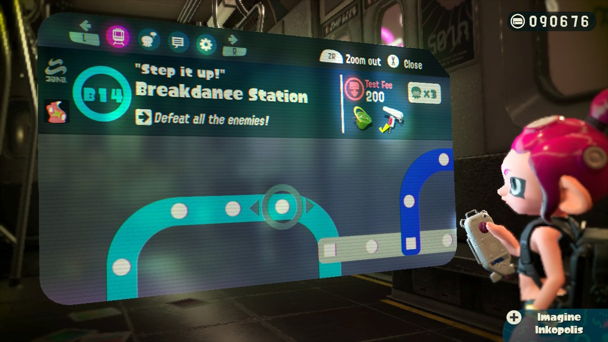 Splatoon 2 Subway Map.Splatoon 2 Octo Expansion Review
