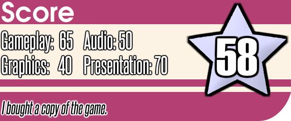 99Seconds Review Score (DSi Ware)