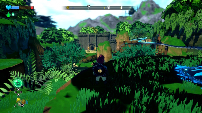 Overworld in A Knight's Quest