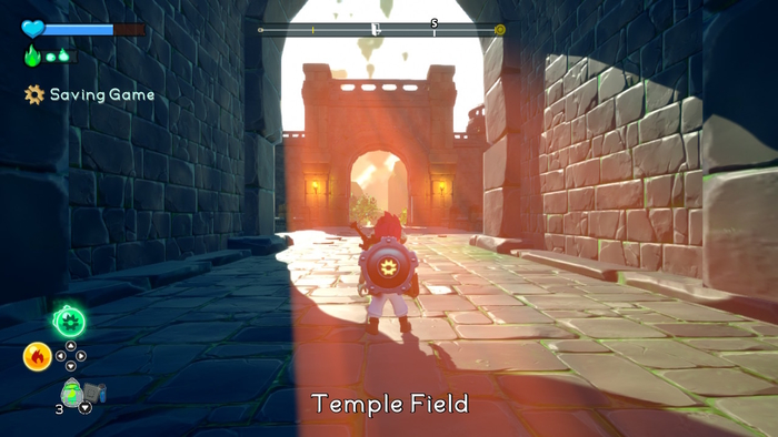 Temple Field in A Knight's Quest