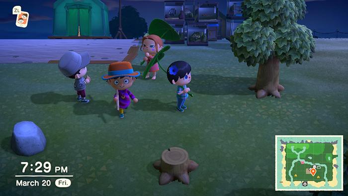 Online multiplayer in Animal Crossing: New Horizons