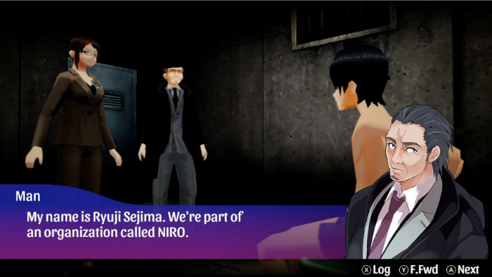 Character sprites in Akiba's Trip Hellbound and Debriefed