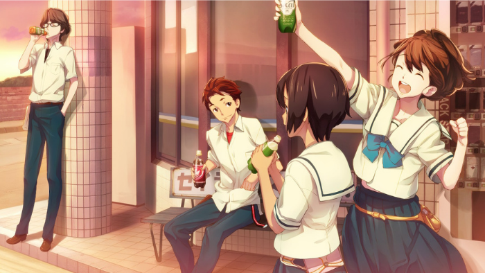 Akiho treats the club members after a day of building in Robotics;Notes Elite