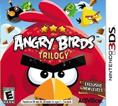 Angry Birds Trilogy 3DS Game Box Cover Art