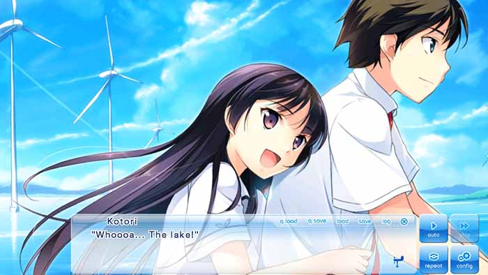 Aoi and Kotori from If My Heart Had Wings