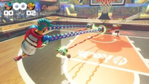 ARMS Hoops Mode Gameplay