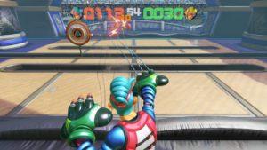 SkillShot hit in Arms (Nintendo Switch)