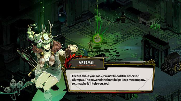 Artemis in Hades