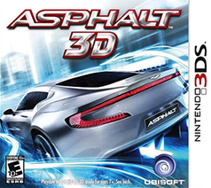 Asphalt 3D Game Box Cover Art