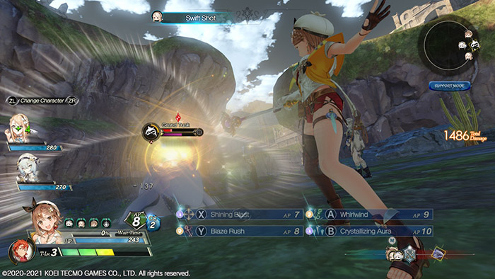 Combat in Atelier Ryza 2: Lost Legends & the Secret Fairy