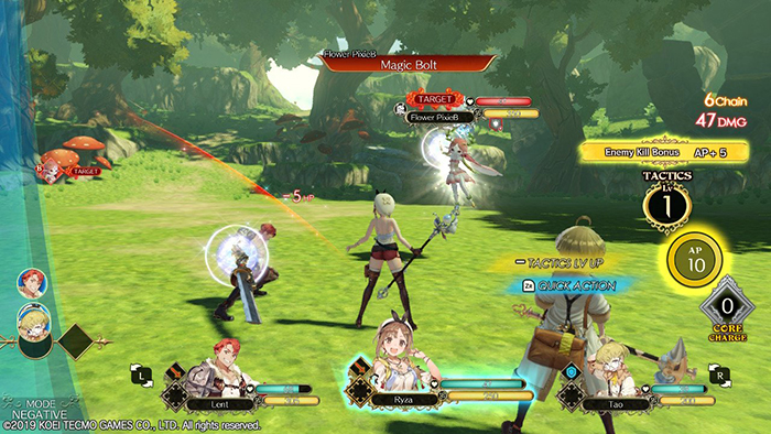 Combat in Atelier Ryza: Ever Darkness & the Secret Hideout