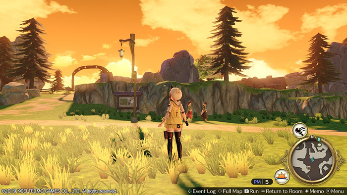 Peaceful day in Atelier Ryza: Ever Darkness & the Secret Hideout