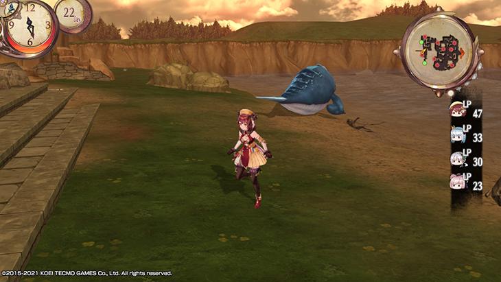Atelier Sophie DX Overworld