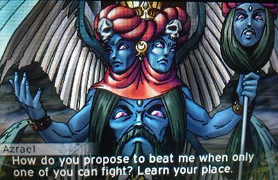 Azrael in Shin Megami Tensei 4: Apocalypse