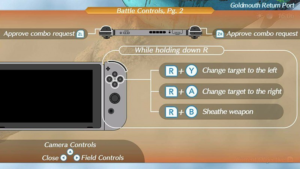 Xenoblade Chronicles 2 Controls