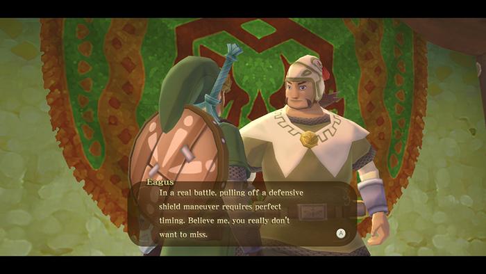 Eagus in The Legend of Zelda: Skyward Sword HD