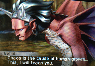 Belial in Shin Megami Tensei IV: Apocalypse