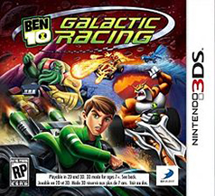 Ben 10 Galactic Racing 3DS Game Box Cover Art
