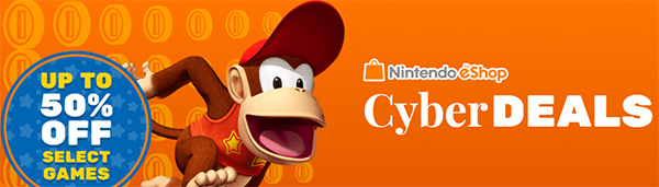 Black Friday and Cyber Monday 2015 3DS/WiiU eShop Discounts