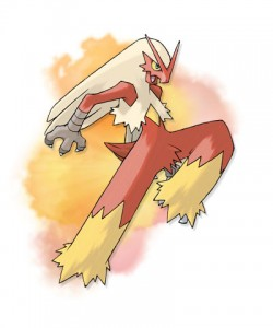 Blaziken - Pokemon X and Pokemon Y