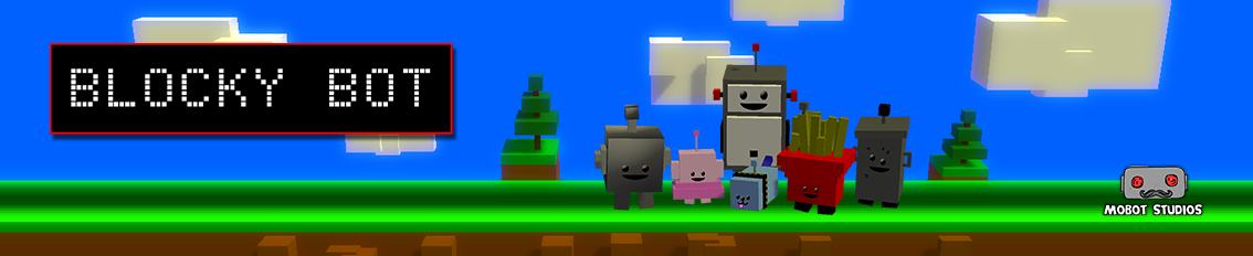 Blocky Bot Banner