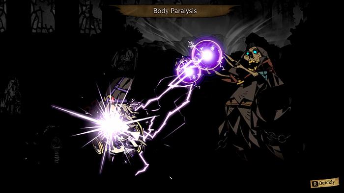 Body paralysis in Mistover