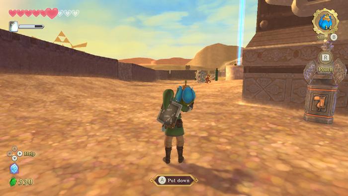 Bomb in The Legend of Zelda: Skyward Sword HD