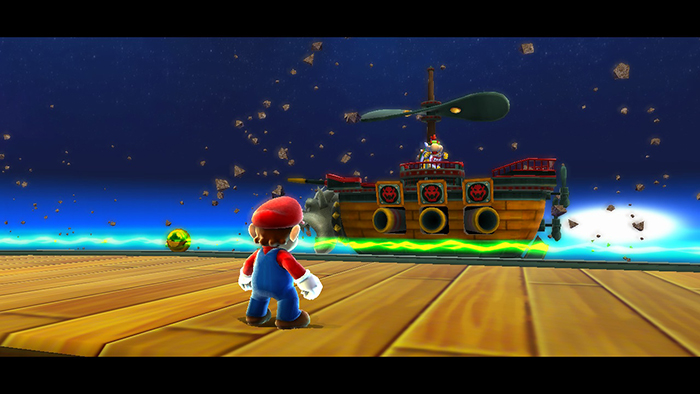 Bowser Jr. in Super Mario Galaxy on the Nintendo Switch