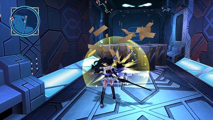 Breaking Crates in Megadimension Neptunia VII