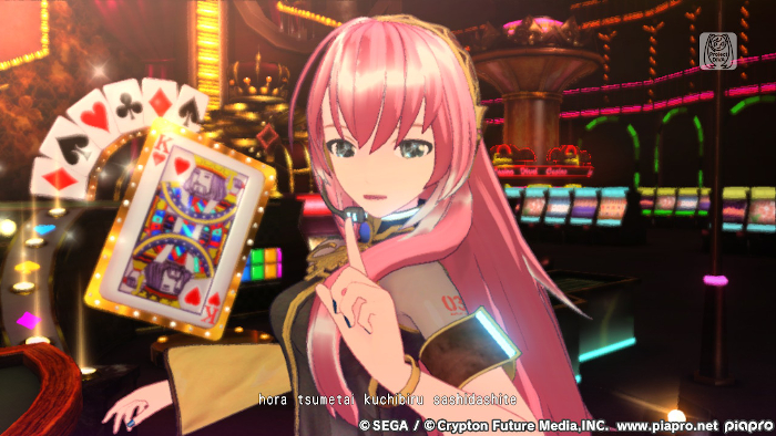 Busy Backgrounds in Hatsune Miku: Project DIVA Mega Mix