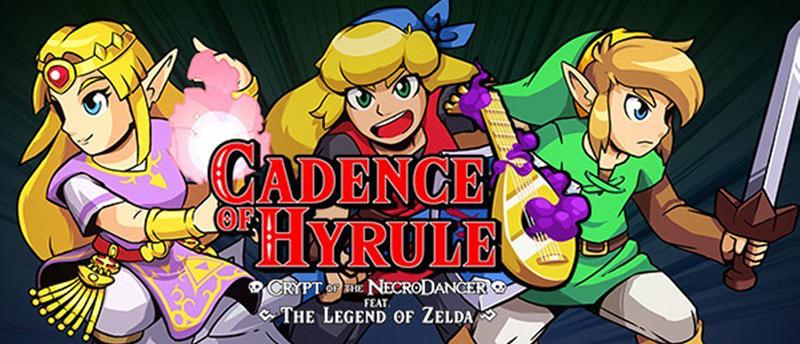 Art featuring Zelda, Cadence, and Link