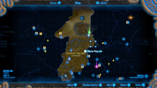 Central Hyrule Map
