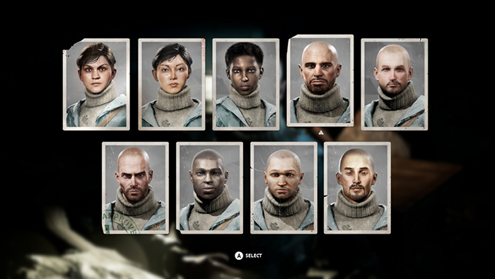 Character Customization in Vigor