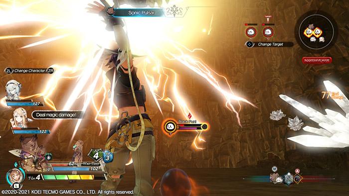 Clifford Combat in Atelier Ryza 2: Lost Legends & the Secret Fairy