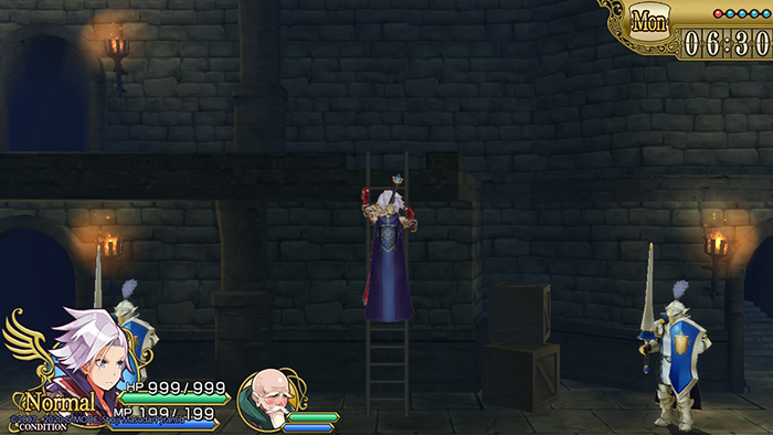 Climbing stairs in Hero must die. again