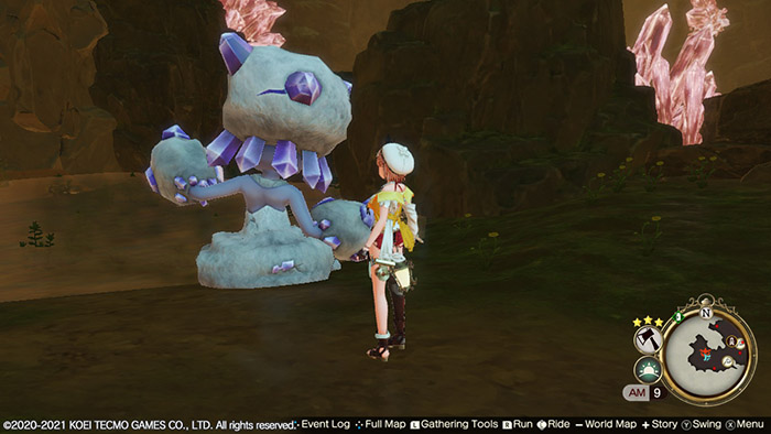 Colossus Golem in Atelier Ryza 2: Lost Legends & the Secret Fairy