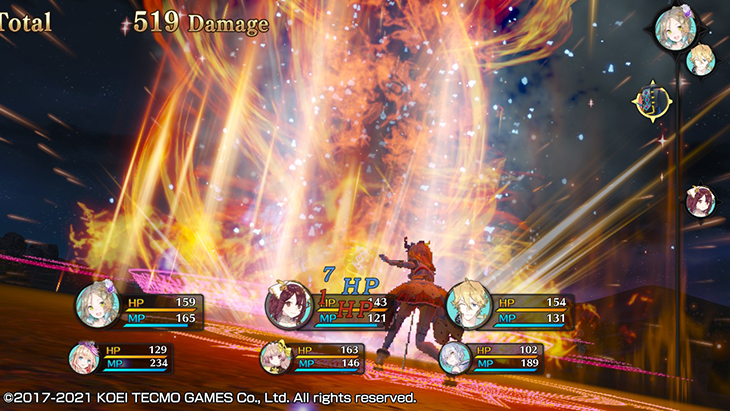 Combat in Atelier Lydie & Suelle DX