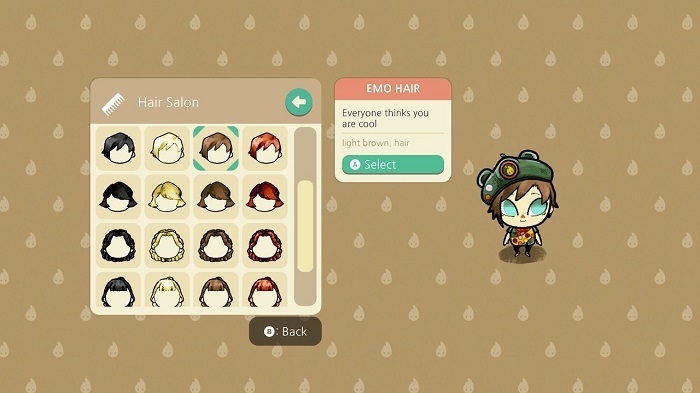 Customization in Cozy Grove
