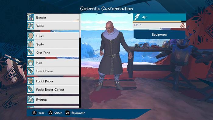 Boreal Blade Customizations