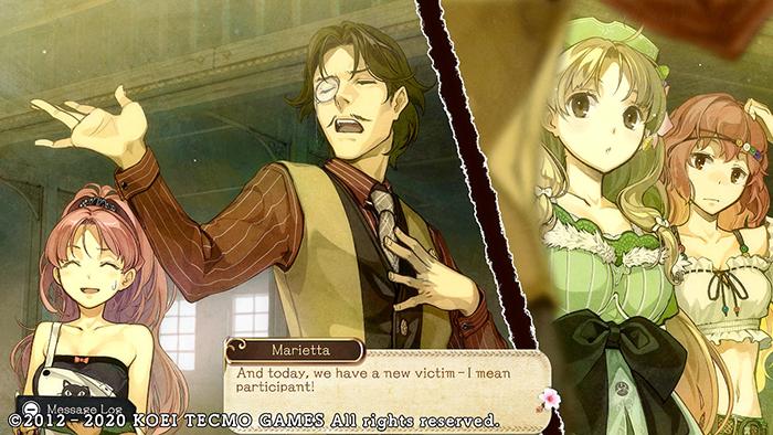 Cutscene in Atelier Ayesha: The Alchemist of Dusk DX