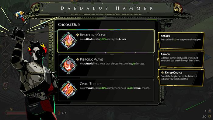 Daedalus Hammer in Hades