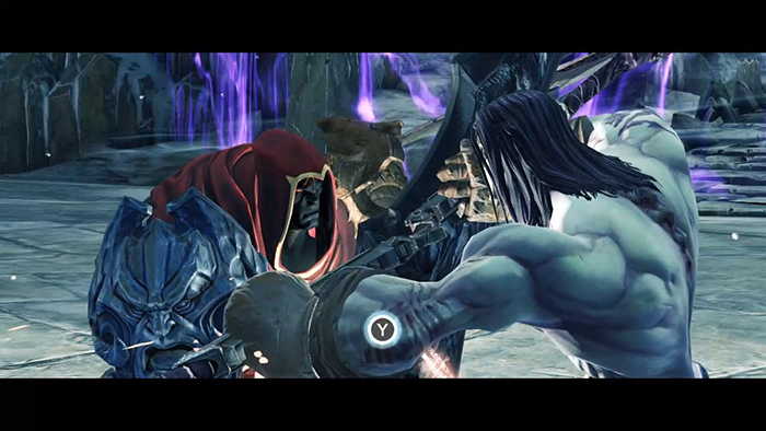 Darksiders 2 Fight