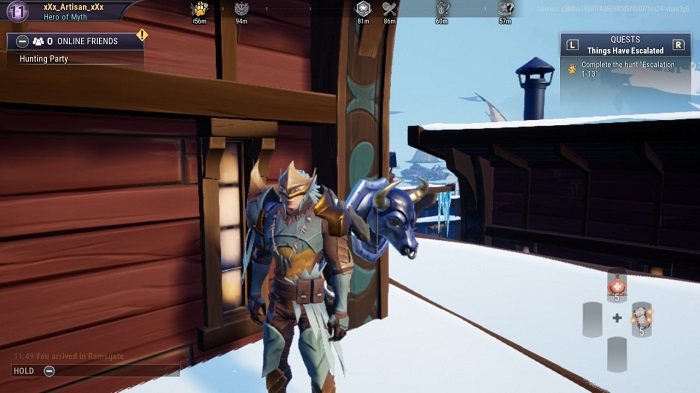 The tenth bust you see in Dauntless.