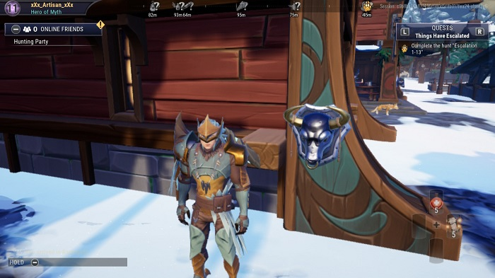 The busts you see in Dauntless in any order. (4)