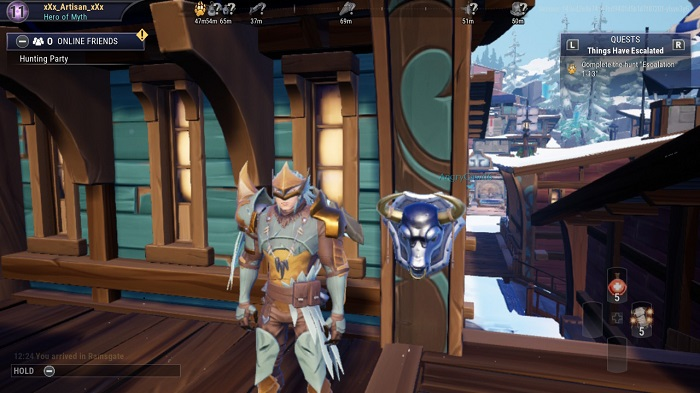 The last few busts in Dauntless. (1)